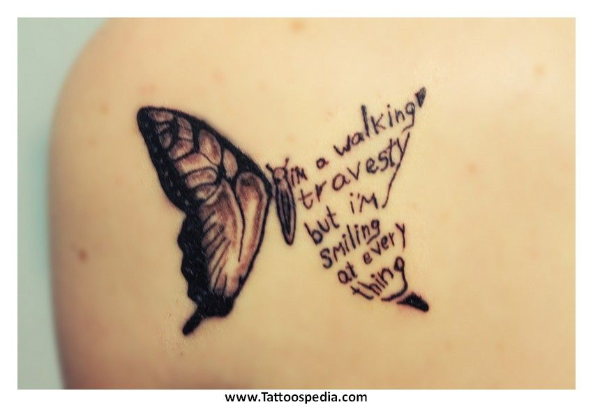 Butterfly Tattoos With Names In The Wings - Porn Tube 2018-9802