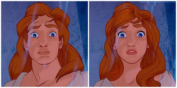 ¿Cómo serían los personajes masculinos de Disney si fuesen mujeres? - Página 10 - SensaCine.com