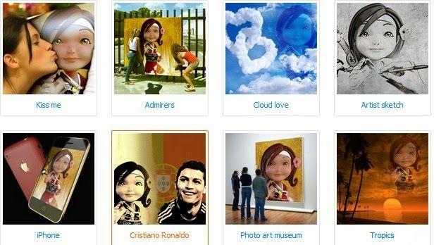 Come inserire una cornice ad un immagine con Photo Face Fun