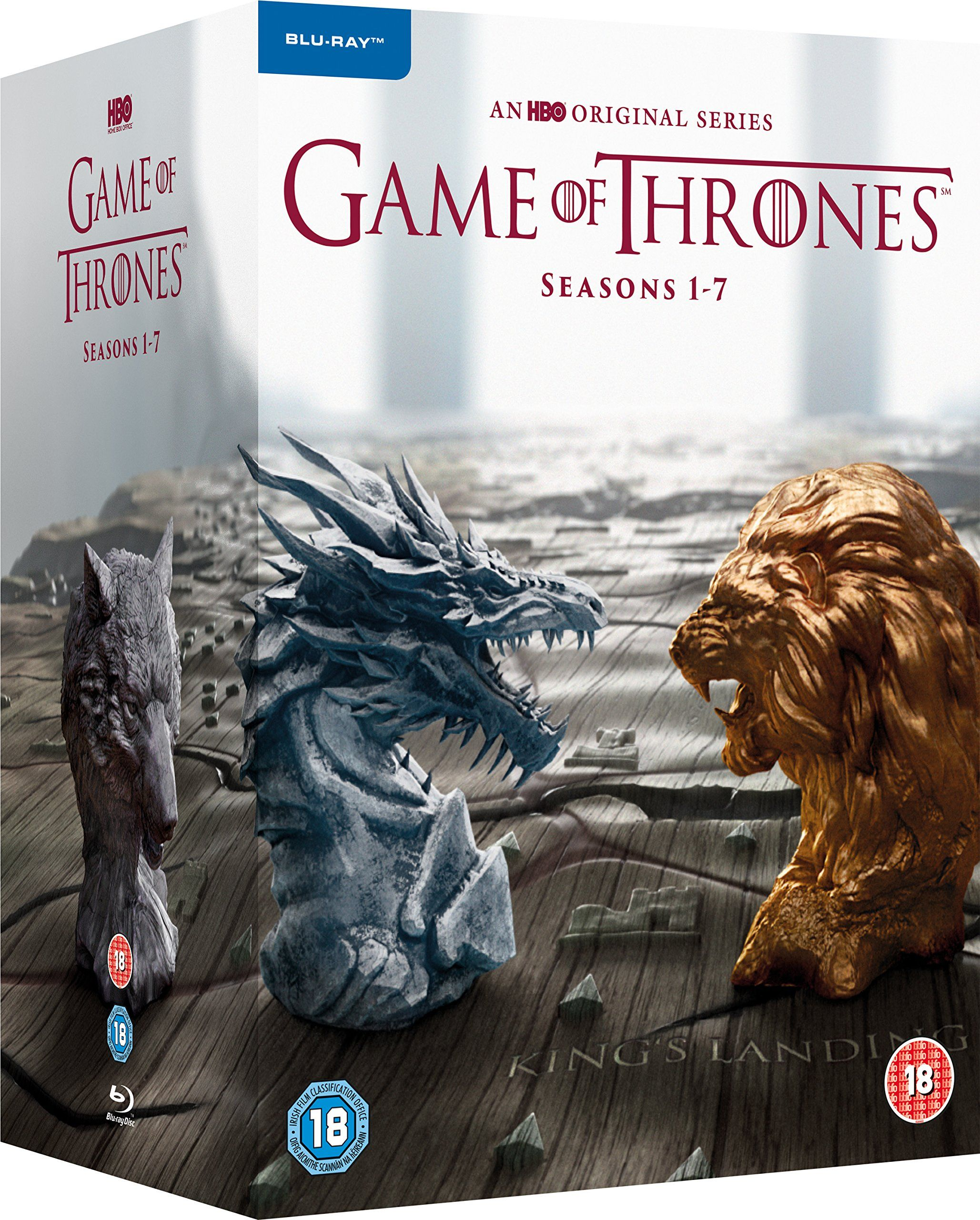 Game of Thrones - Season 1-7 [Blu-ray] [2017] [Region Free