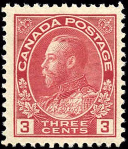 Canada #109, F-VF, MNH