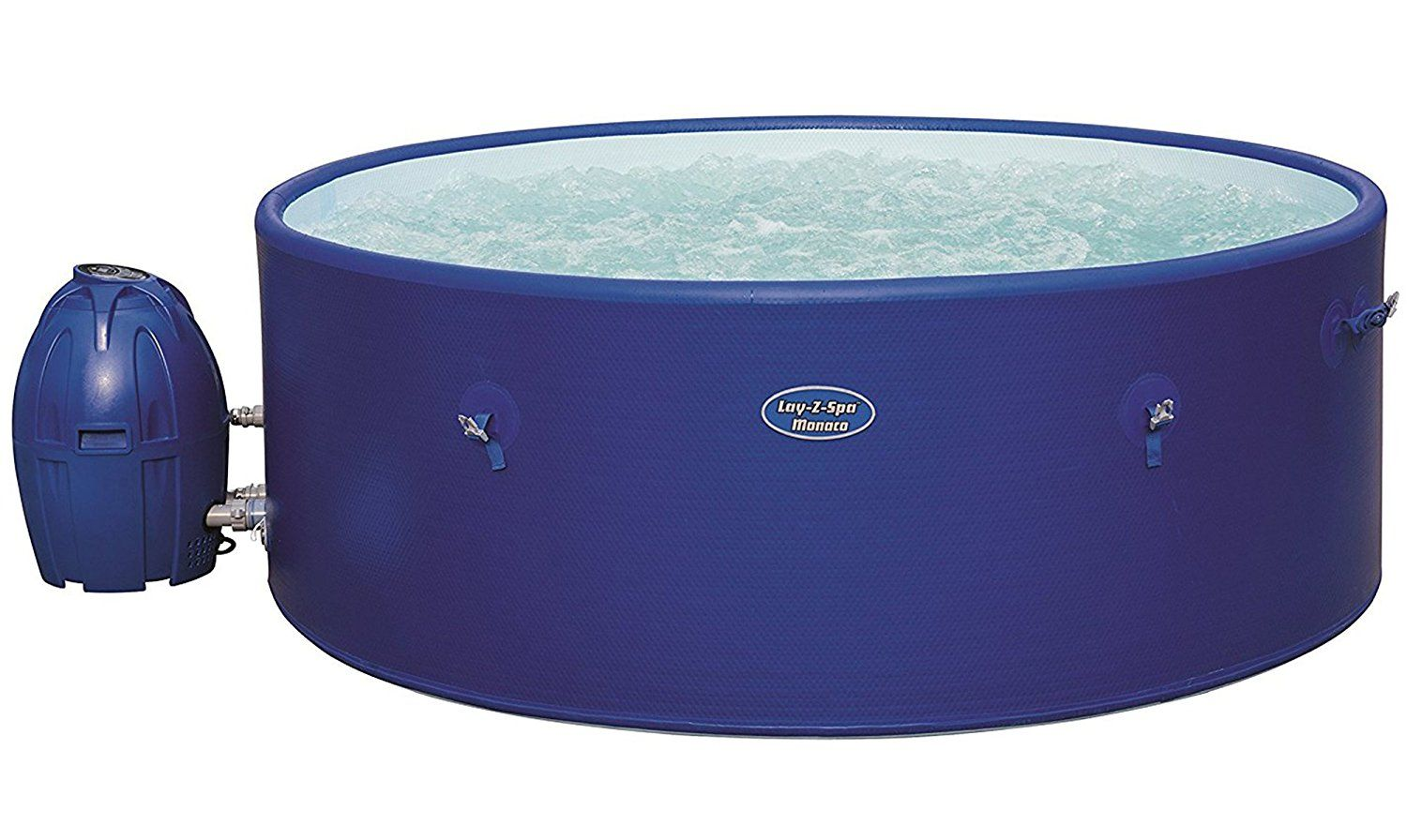 Lay Z Spa Monaco Hot Tub Airjet Inflatable Spa 6 8 Person