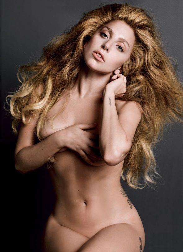 Lady Gaga on V Magazine Vol.85
