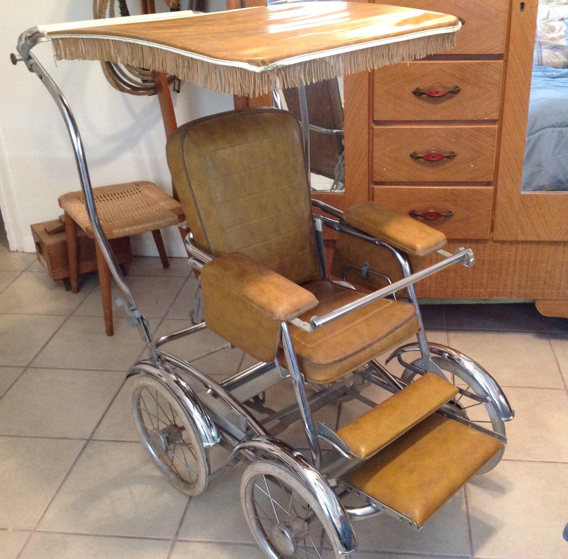 Vintage stroller, 1960's. Antique and Vintage Baby/Doll