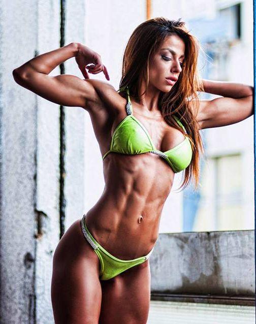 super fit nackte Frauen