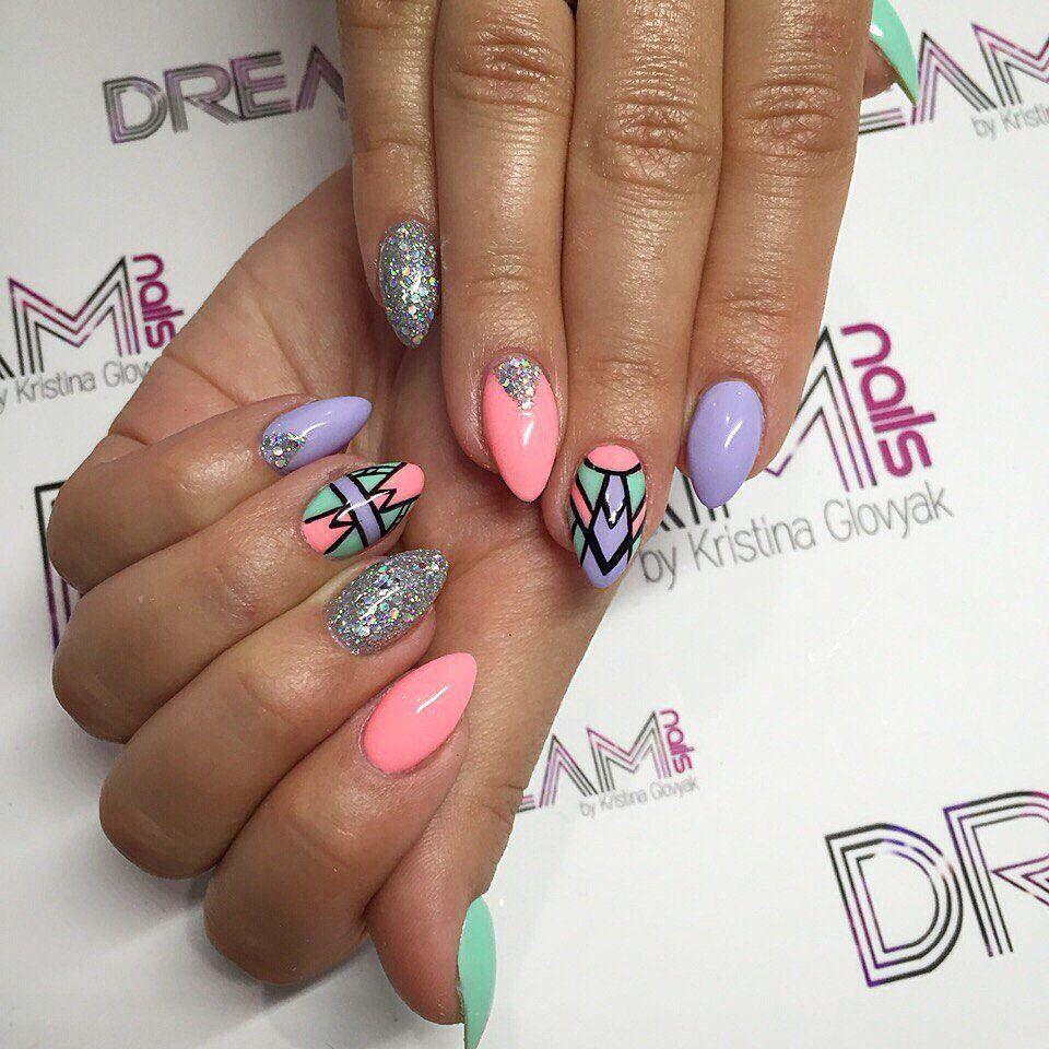 Гелеві Нігті   Nails design   Pinterest
