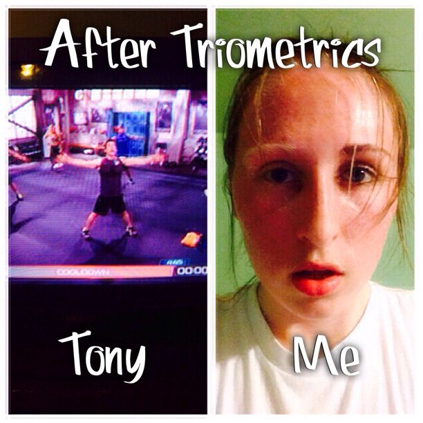 How I look after P90X3 Triometrics vs how Tony Horton looks