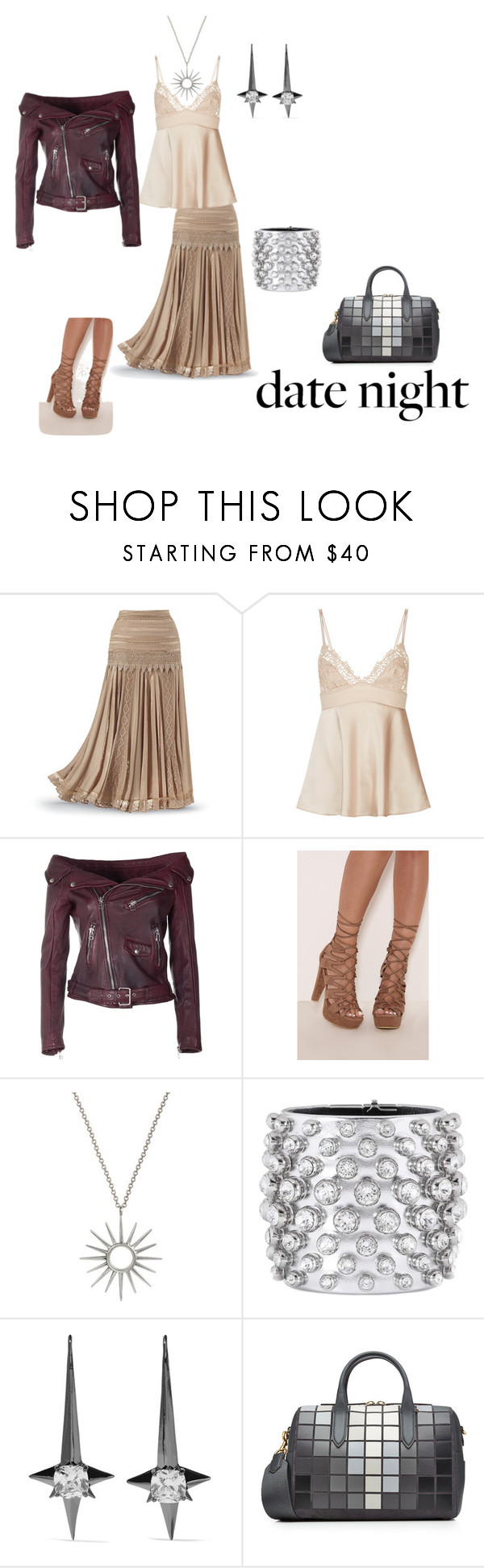together girl by shelly-branderson on Polyvore featuring Faith Connexion, Tom Ford, Noir Jewelry and Anya Hindmarch