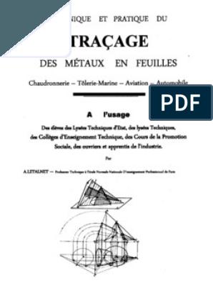 CHAUDRONNERIE TÉLÉCHARGER TRACAGE