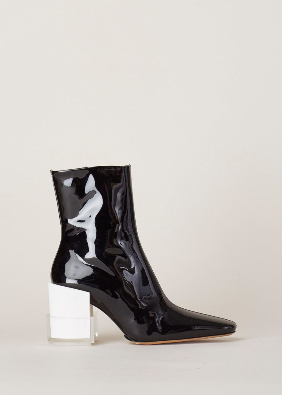 Black Layered Boots Maison Martin Margiela Looking For Cheap Online j63e5z