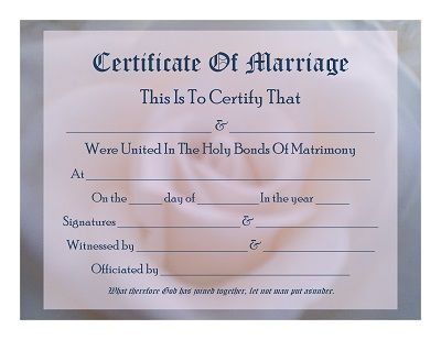 Keepsake Marriage Certificates - Free Graphics and Printables - copy birth certificate long beach
