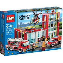 Estación De Bomberos De Lego City Estación De Bomberos Tienda De Juguetes Carro De Bomberos