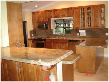 Kitchen   Granite Countertops Miami South Fl, 381x285 In 225.4KB
