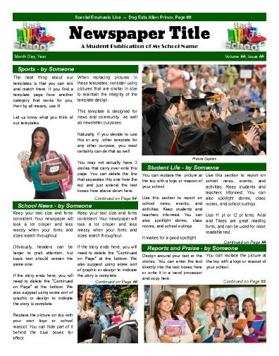 13+ Printable Preschool Newsletter Templates u2013 Free Word, PDF - newsletter template free word