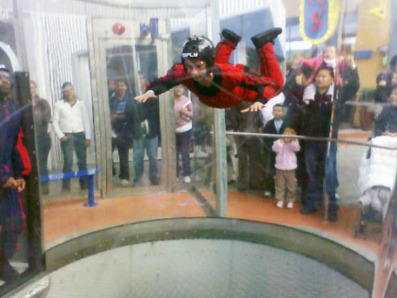 iFly in Tukwila offers indoor skydiving! | Outside of