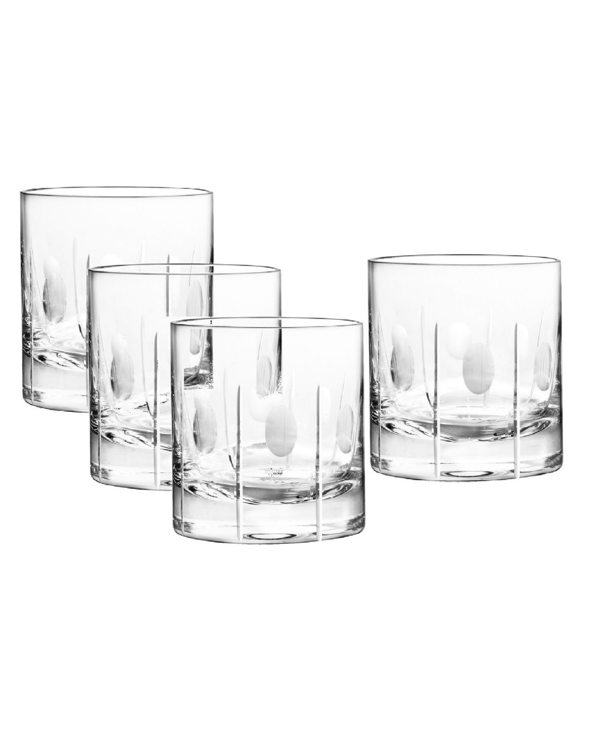 Qualia Glass Gulfstream Double Old Fashioned Glasses Set Of 4 In 2020 With Images