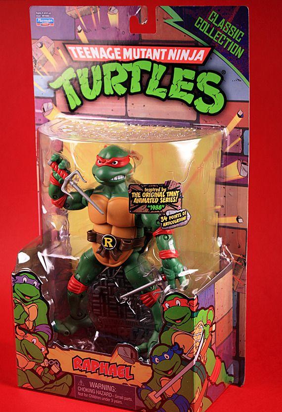My Raphael figure from the 2012 Teenage Mutant Ninja Turtle (TMNT) Classic Collection.
