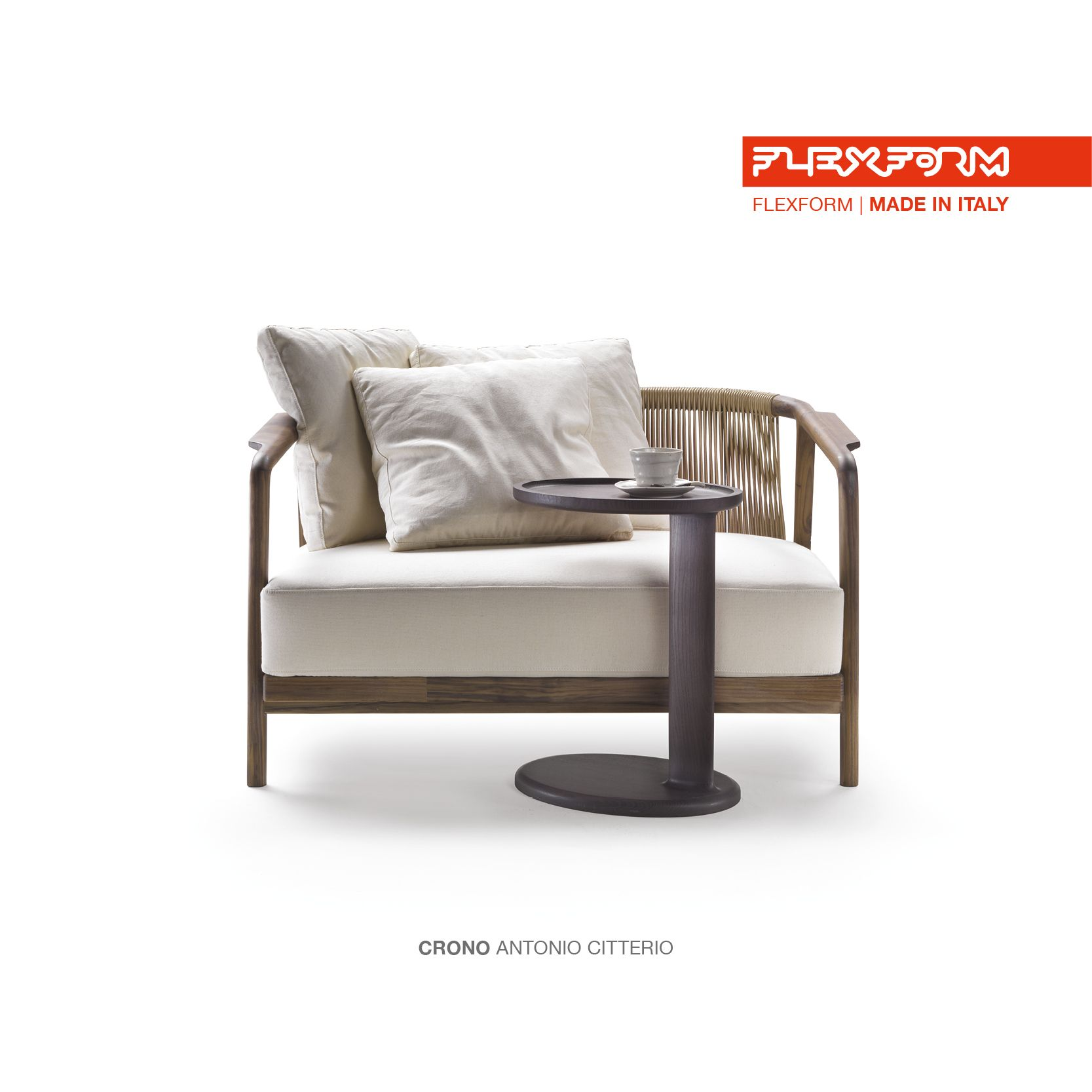 Flexform Sessel Flexform Crono Small Sofa Design Antonio Citterio Admired By