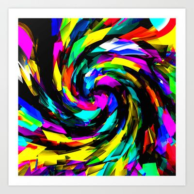 Turbulent Art Print by David  Gough - $15.00