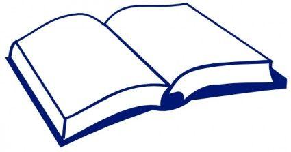 Open Book Clip Art Book Clip Art Book Silhouette Open Book