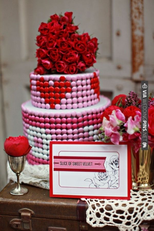 Valentine S Day Cake By Brown Betty Via Weddingpins Net Wedding