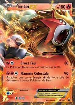 Entei Ex Carte Pokemon Pokemon Imprimer Carte Pokemon