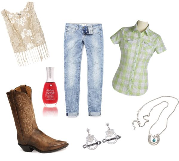 """""""COWGIRL!!!"""" by ditadot on Polyvore"""