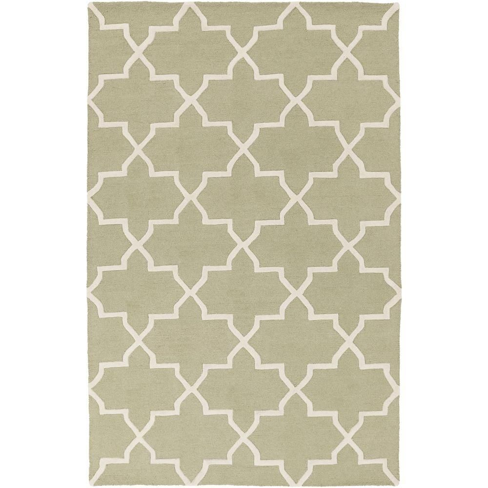 Pollack Keely Moss (Green) 7 ft. 6 in. x 9 ft. 6 in. Indoor Area Rug