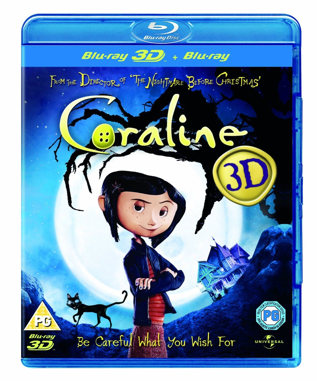 Coraline Blu Ray 3d Blu Ray Region Free Coraline Blu Ray Blu
