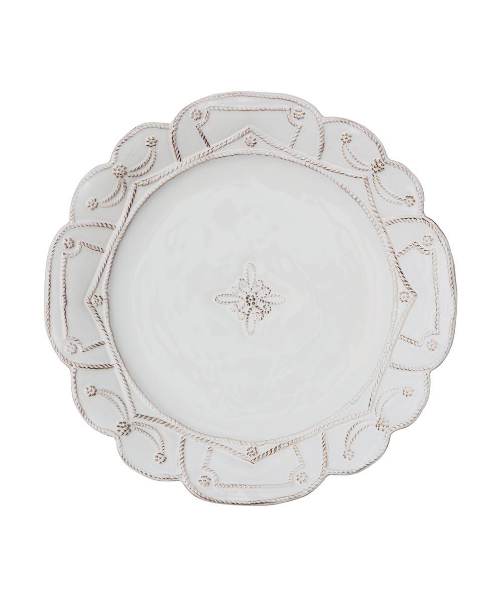 Jardins Du Monde Dinner Plate - Whitewash - KITCHEN AND DINING ...