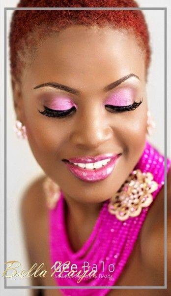 Nigerian Wedding: Makosi for GeeBalo Makeup & Beads - BellaNaija Weddings #nigerianbride #naijabride #naijawedding