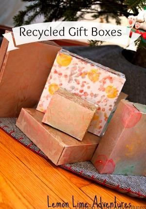 Hand Made Recycled Gift Boxes