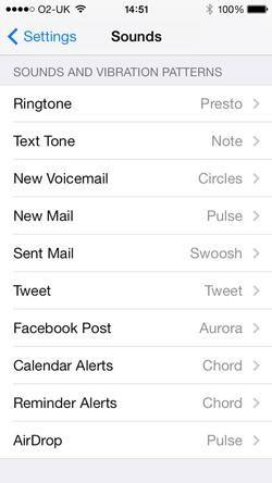 Set song as iphone ringtone - custom text message alert tone