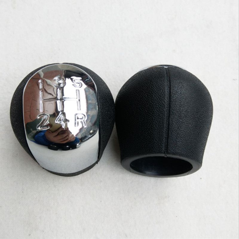 Car Styling 5 / 6 Speed Car Shift Gear Knob Handball Cover For OPEL VECTRA C SIGNUM 2002 2003 2004 2005 Chrome Wholesale