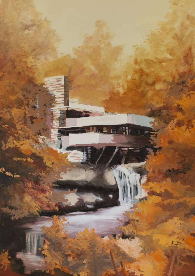 """Saatchi Art Artist Andy Allen; Painting, """"Falling Water"""" #art"""