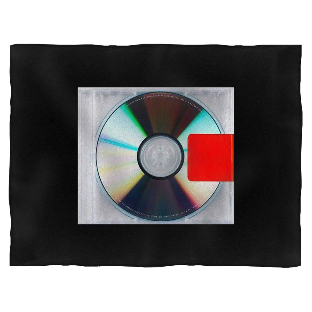 Yeezus Kanye West Classic Hip Hop Rap Cover Art Blanket