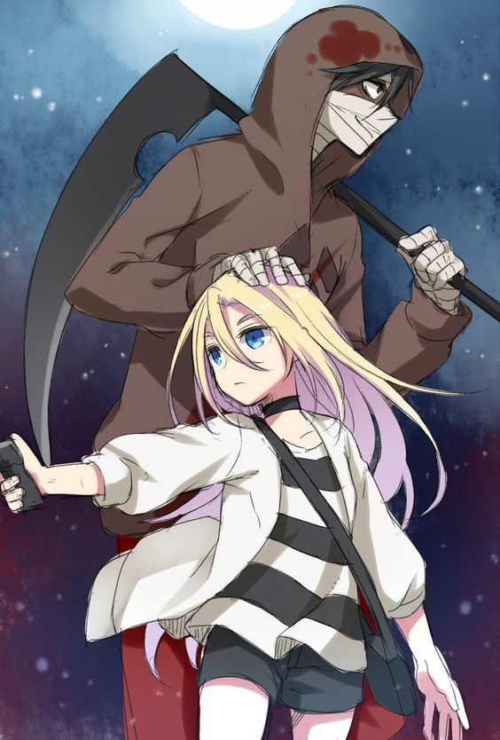 Photo of Angel of Death Zach and Rachel Best Anime Series Cute Anime Couples – Ang …