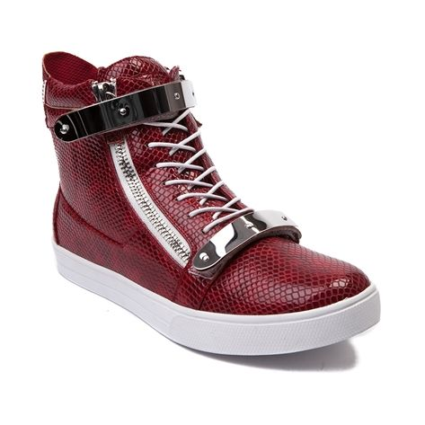 shop for mens j75jump zion casual shoe in red patent