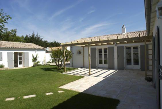 style maison Future maison style Ile de Ré Pinterest - plan maison en forme de u