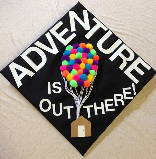 High School Graduation Cap Decoration Idea I Don T Like This Specific One