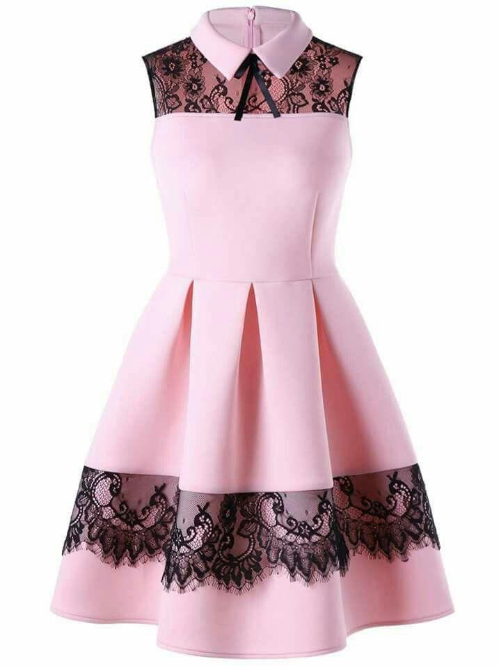 Pin de Cecy en vestido niña | Pinterest | Vestiditos, Ropa y ...