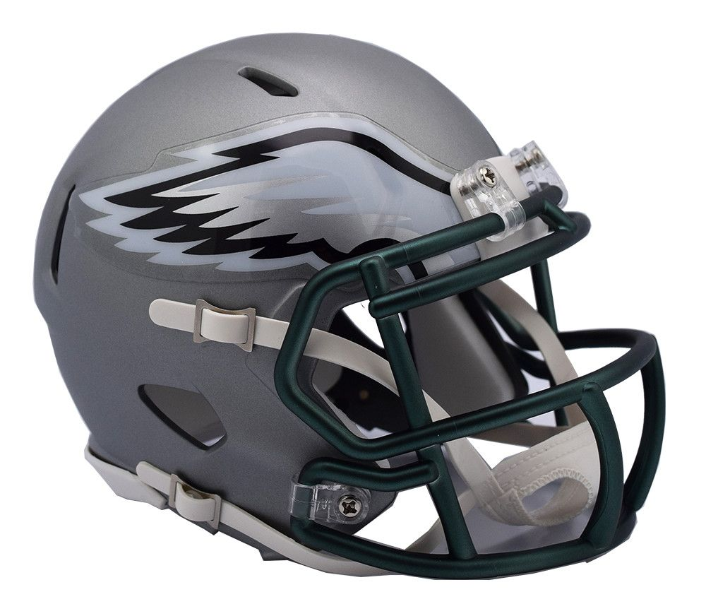 Preorder Philadelphia Eagles Riddell Blaze Alternate Speed Mini Helmet Mini Football Helmet Football Helmets Philadelphia Eagles Helmet