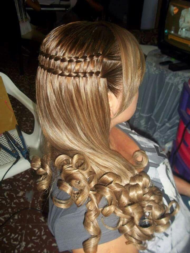 12 Peinados bonitos para cabello largo