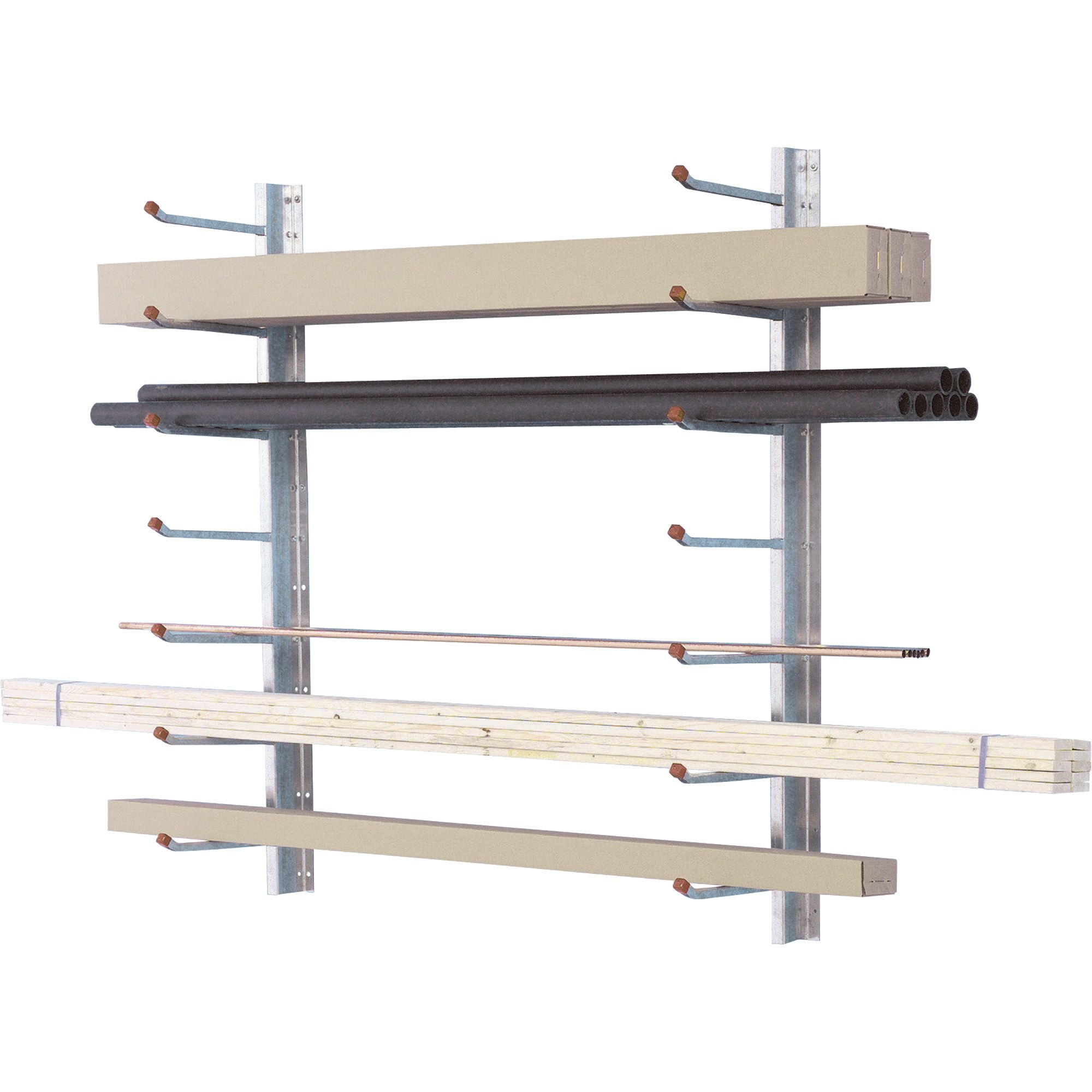 Attrayant Wall Mount Storage Rack, Model# 1234 | Racks| Northern Tool + Equipment