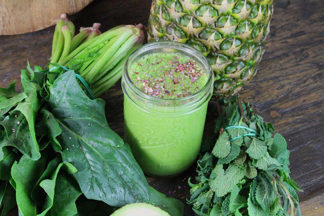 Grüne Smoothie-Zutaten zur Gewichtsreduktion