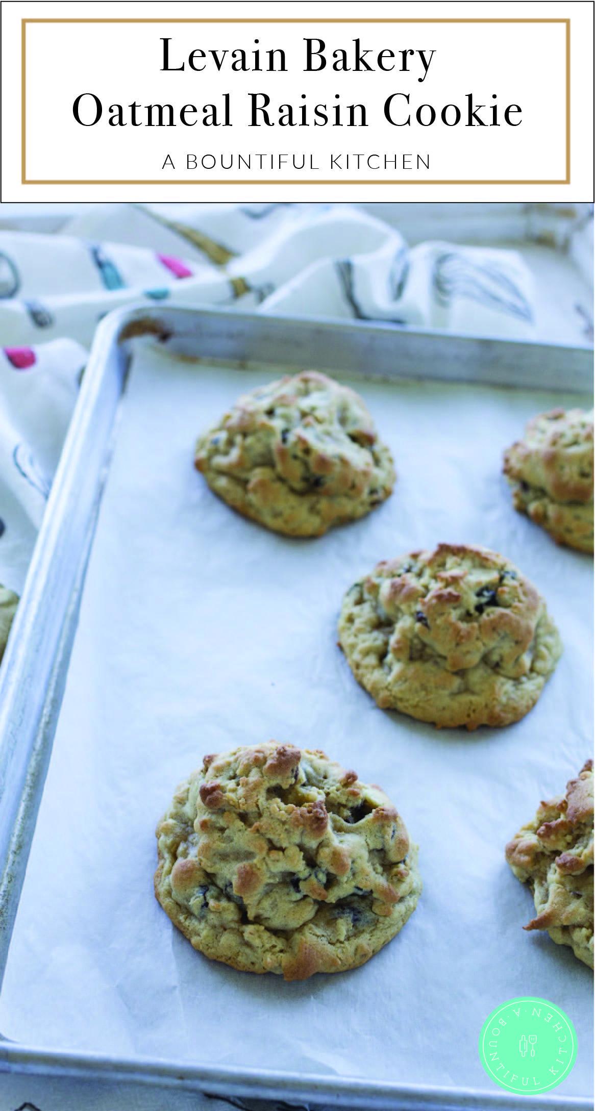 Levain Bakery Oatmeal Raisin Cookie Recipe Levain Bakery Oatmeal Raisin Cookies Cookie Bakery