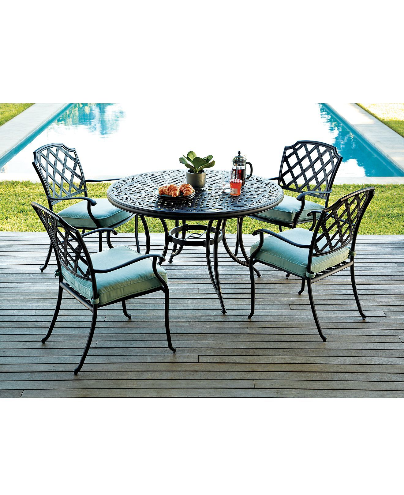 Nottingham Outdoor Patio Furniture Dining Sets & Pieces Patio