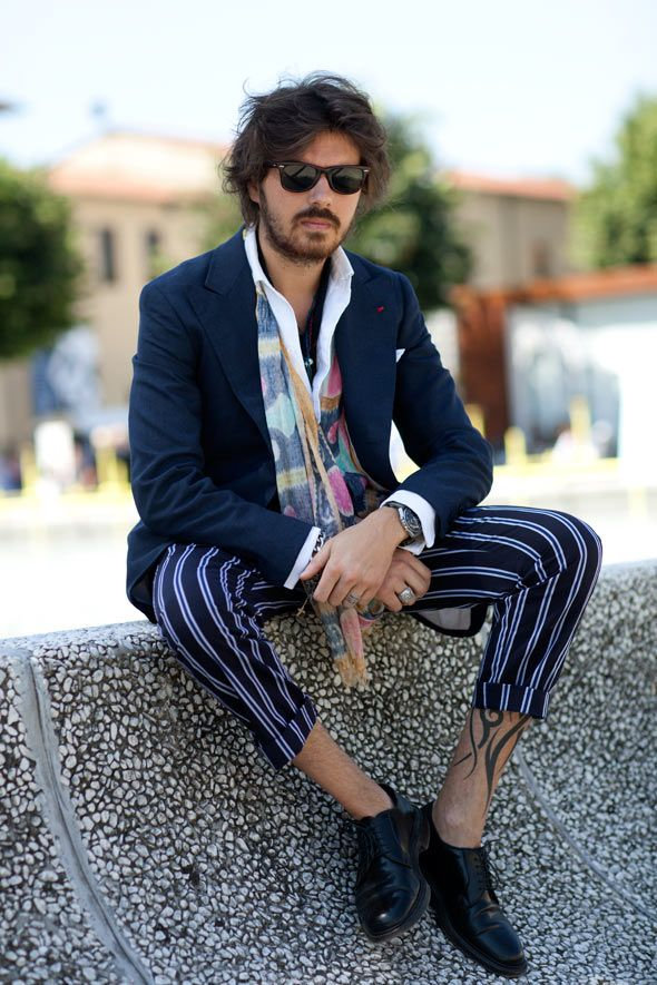 the only way this could be more johnny depp is if it was johnny depp. from the sartorialist blog.