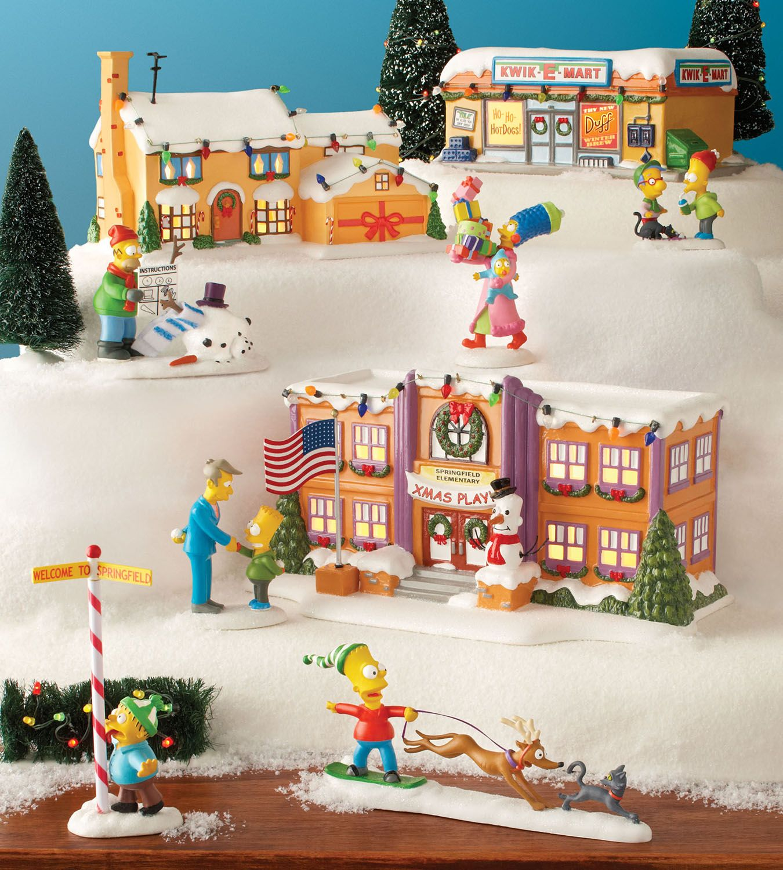 Simpsons Christmas Village.Department 56 Simpsons Village The Simpsons Tm C 2013