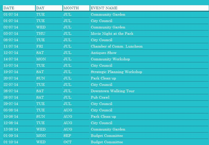 The community event planner template is designed for your help - event planning calendar template